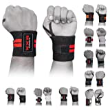 Weight Lifting Wrist Wrap Power Lifter Wraps Supports Gym Workout Fist Wrist Straps Exercise Fitness