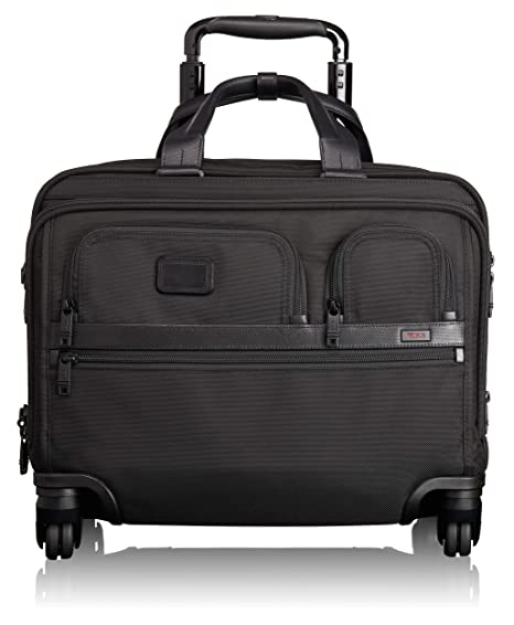 Tumi Kompakte Aktentasche Auf 4 Rollen Alpha 2 Büro & Schreibwaren Koffer, Taschen & Accessoires