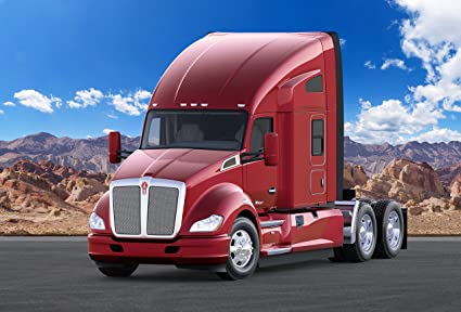 Amazon com: Kenworth T680 (2012-2017) Truck Print on 10 Mil