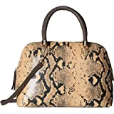 Cole Haan Benson Large Dome Satchel Snake Print