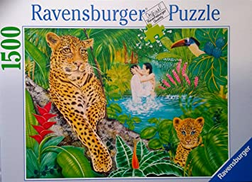 Ravensburger Los Gatos aman, 1500 Rompecabezas Pieza: Amazon.es ...