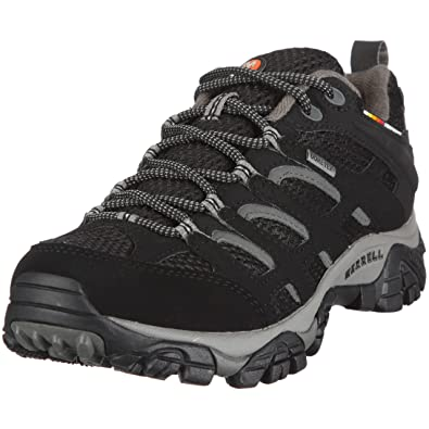 Merrell MOAB GTX, Damen Trekking- & Wanderhalbschuhe, Schwarz (BLACK), 36