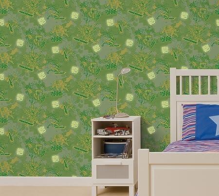 Decofun Ben 10 Glow In The Dark Wallpaper Amazoncouk Kitchen Home