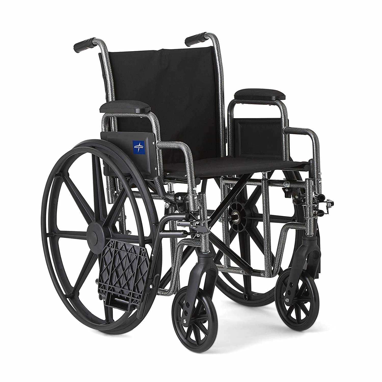 Amazon Medline Strong and Sturdy Wheelchair with Desk Length