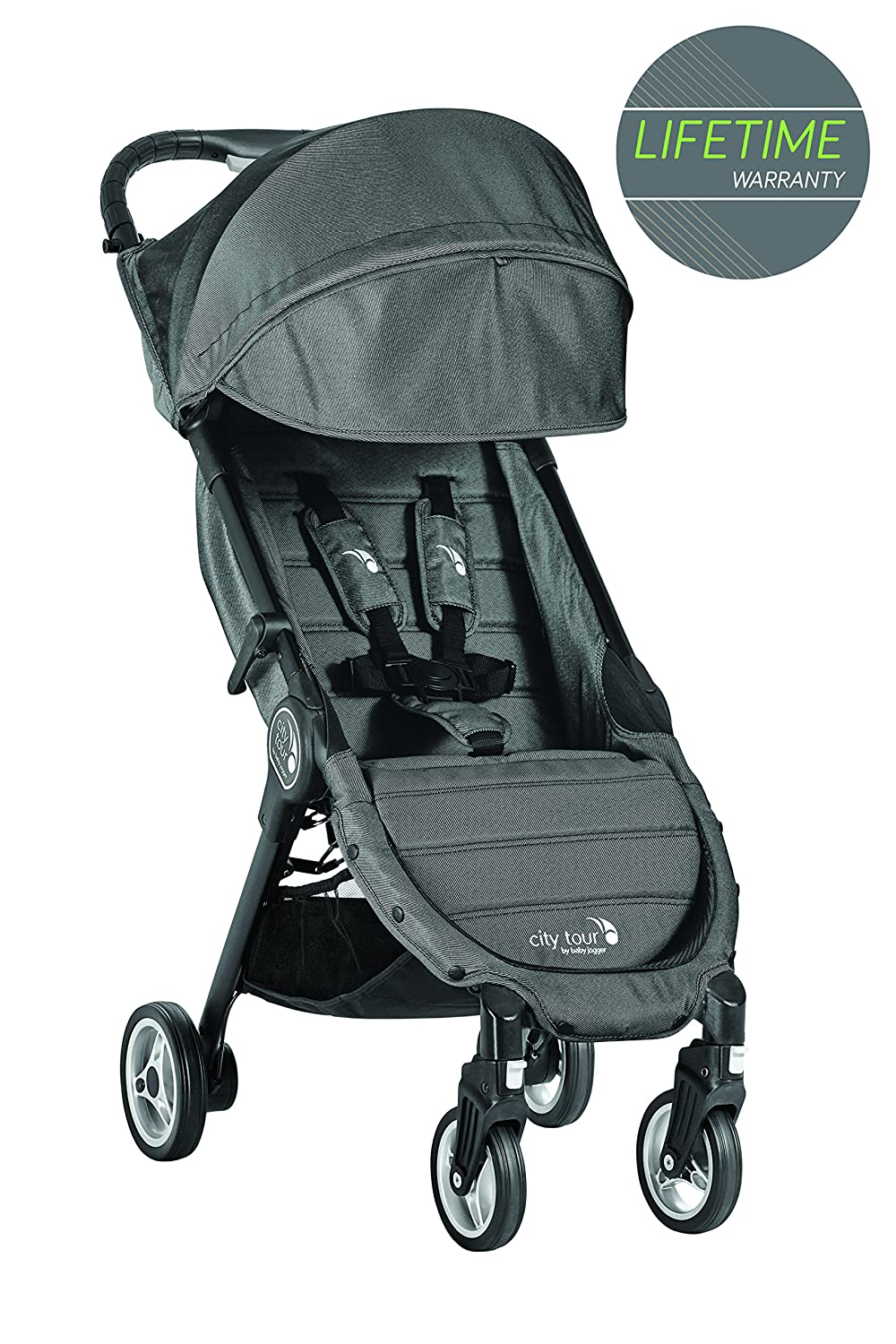 Baby Jogger City Tour Compact Fold Stroller Charcoal Kooltrade 17-26-021
