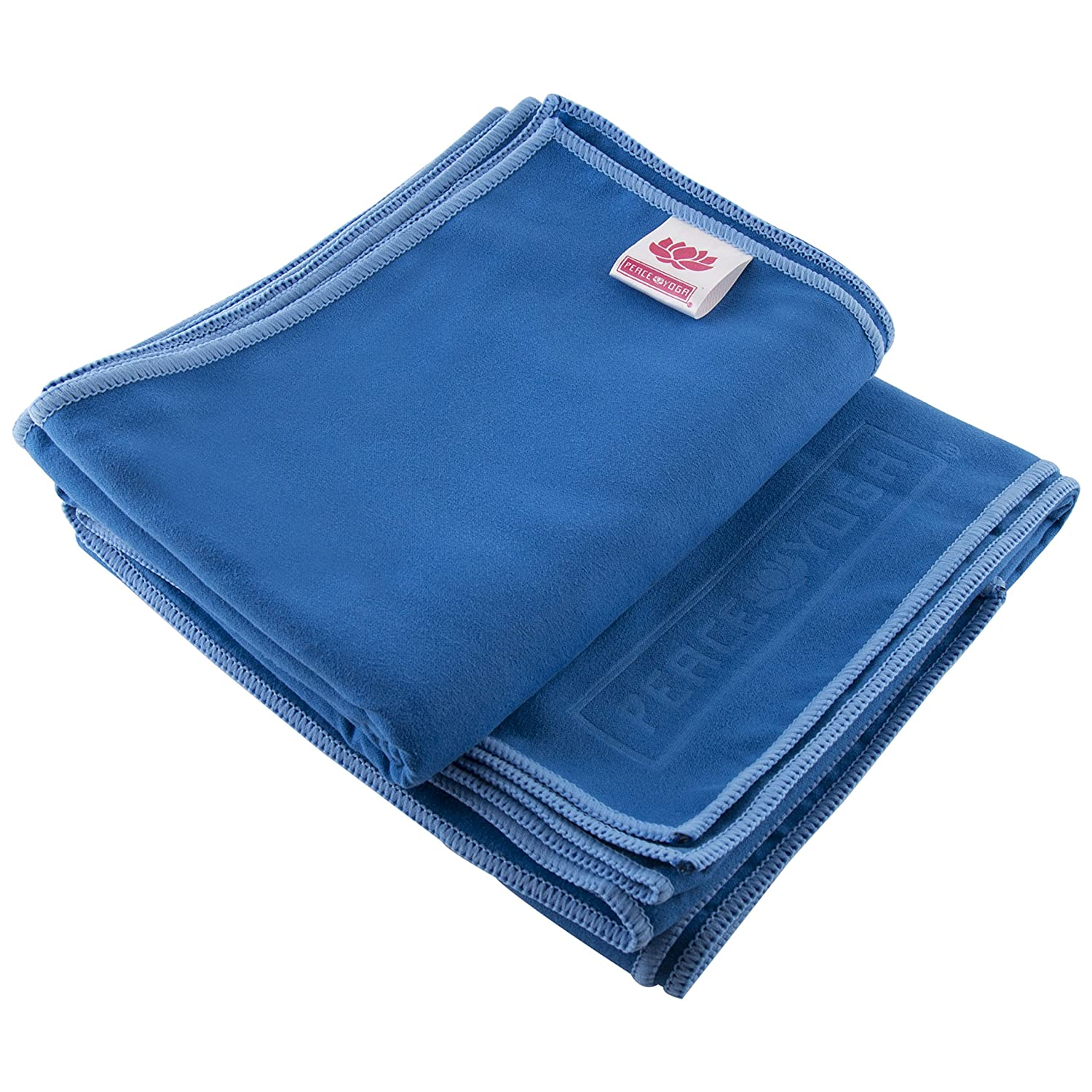 Peace Yoga Non Slip Suede Exercise Towels