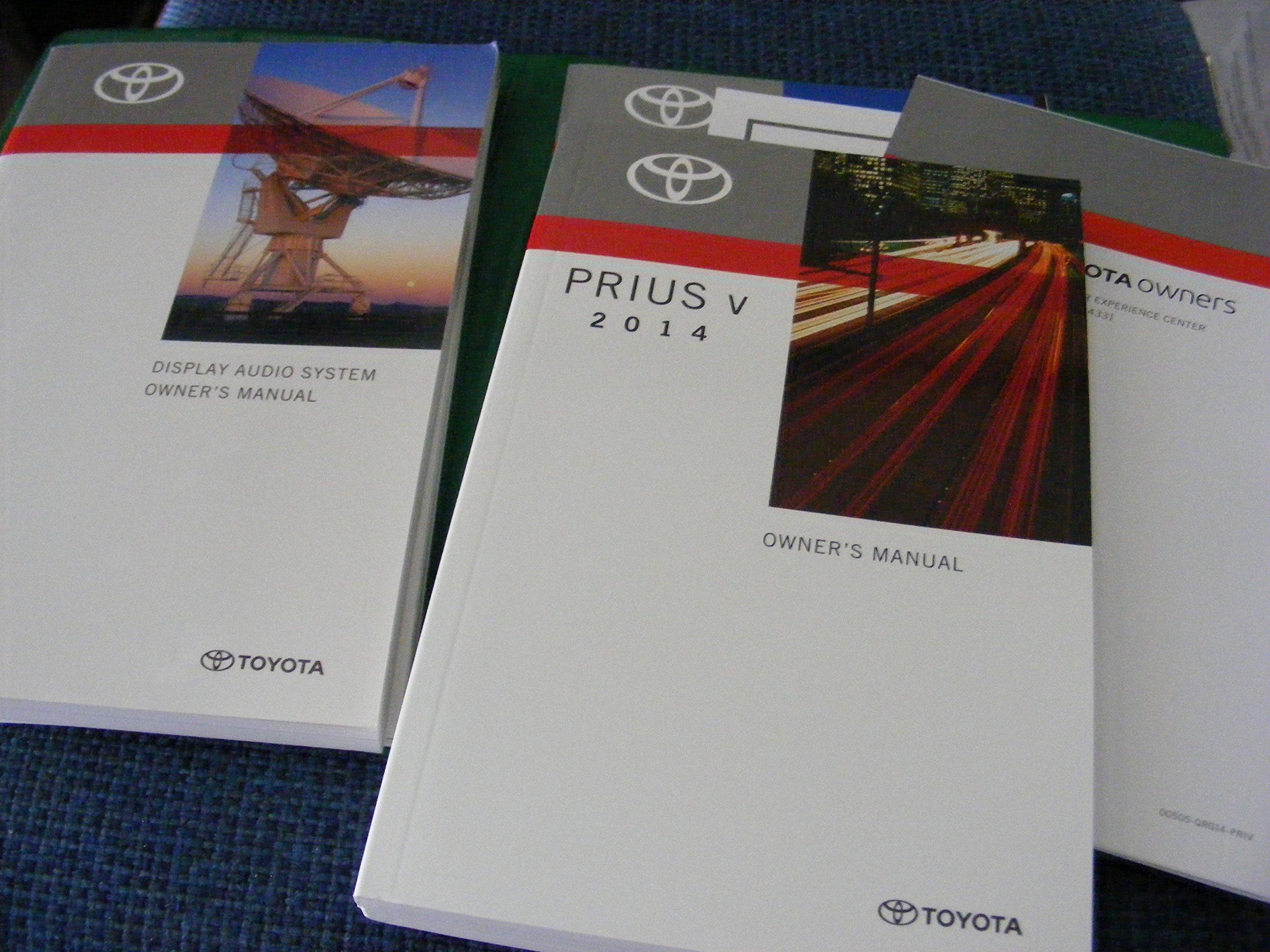 2014 prius owners manual