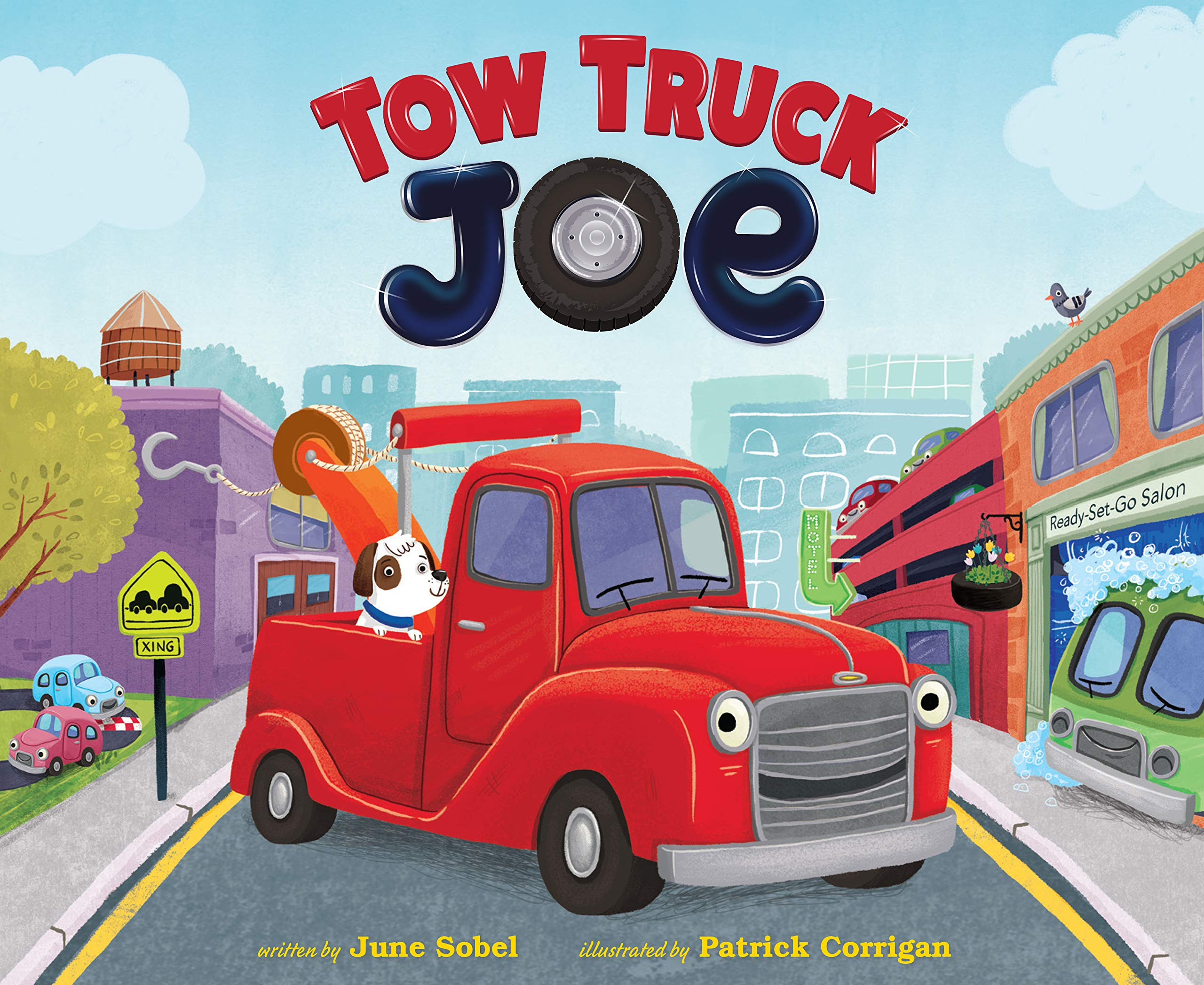 amazon com tow truck joe 9780358053125 sobel june corrigan patrick books amazon com tow truck joe