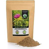 Semillas de cardo mariano molidas (1kg), 100% naturales y puras, suavemente secadas y molidas