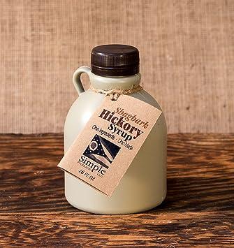 amazon com simple gourmet shagbark hickory syrup breakfast