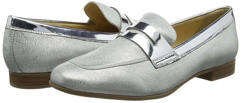 Geox B Damen D Marlyna B Geox Slipper Silber (Silver) e899e9
