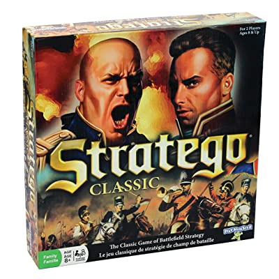 PlayMonster Classic Stratego Board Game: Toys & Games