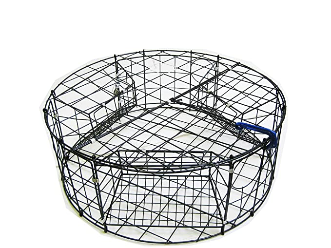 Amazon.com: kufa Acero Inoxidable Ronda Crab Trap (Ø32
