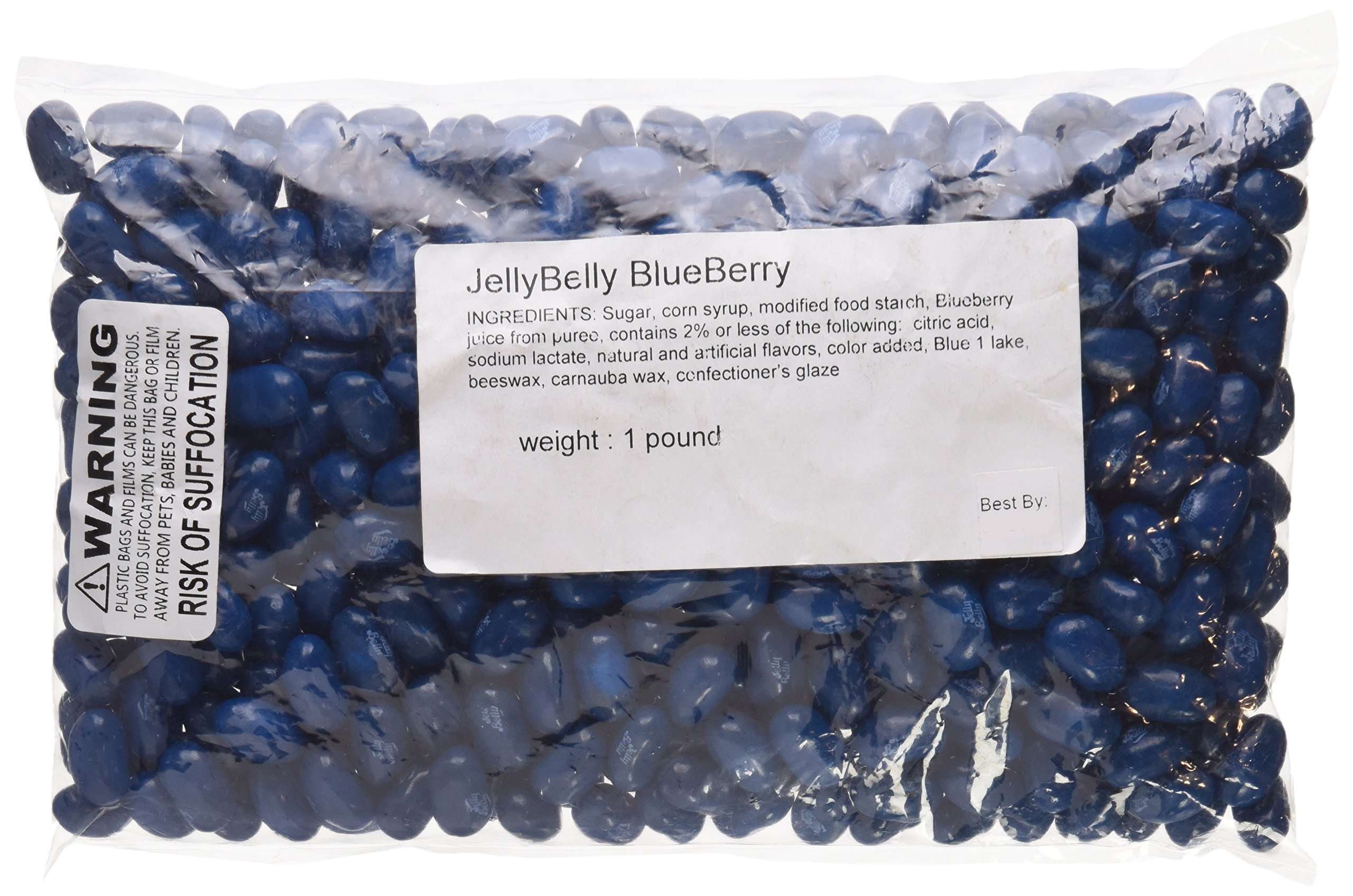 Jelly Belly Blueberry Jelly Beans 1LB (Pound Bag) by Jelly Belly (Image #1)