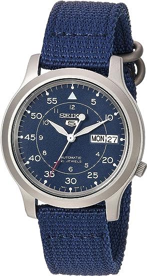 [セイコーインポート]SEIKOimport腕時計海外モデルメッシュベルト自動巻きミリタリーネイビーSNK807K2メンズ[並行輸入品]