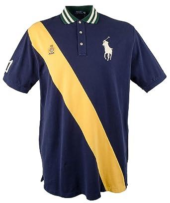 5e5b798b Amazon.com: Polo Ralph Lauren Men's Big and Tall Pony Sash Polo ...