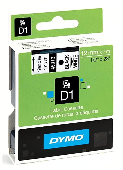 86 opinioni per Dymo D1 Standard- Etichette Cassette, 12mm x 7m