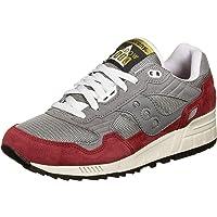 Saucony SHADOW 5000 GREY/RED Uniseks volwassen. Atletische schoenen
