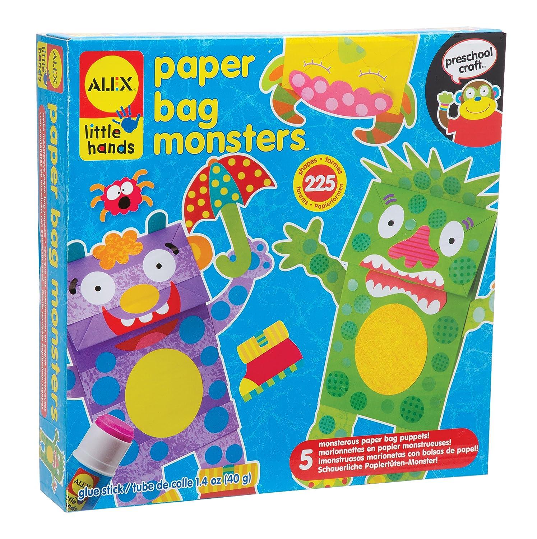 Amazon Alex Toys Little Hands Paper Bag Monsters Toys Games