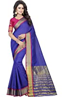 Zpluesx Women's Cotton Saree