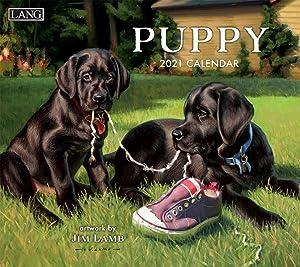 LANG Puppy 2021 Wall Calendar (21991001937)