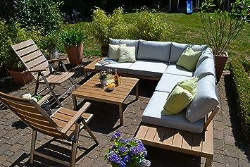 Amazon.de: bomey Lounge Set I Gartenmöbel Orlando 4-Teilig I ...