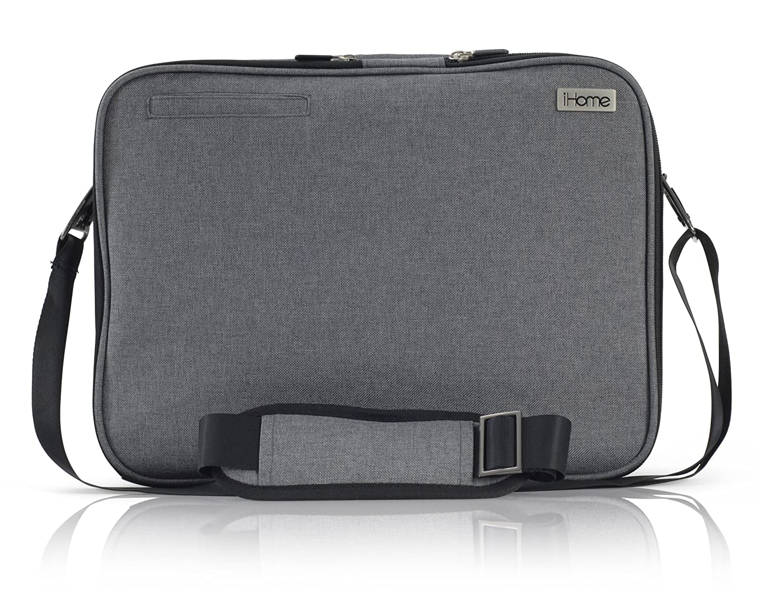 35f0306430c Amazon.com: iHome Smart Brief: 13 inch Laptop Briefcase for Mac, Heathered  Grey: Computers & Accessories