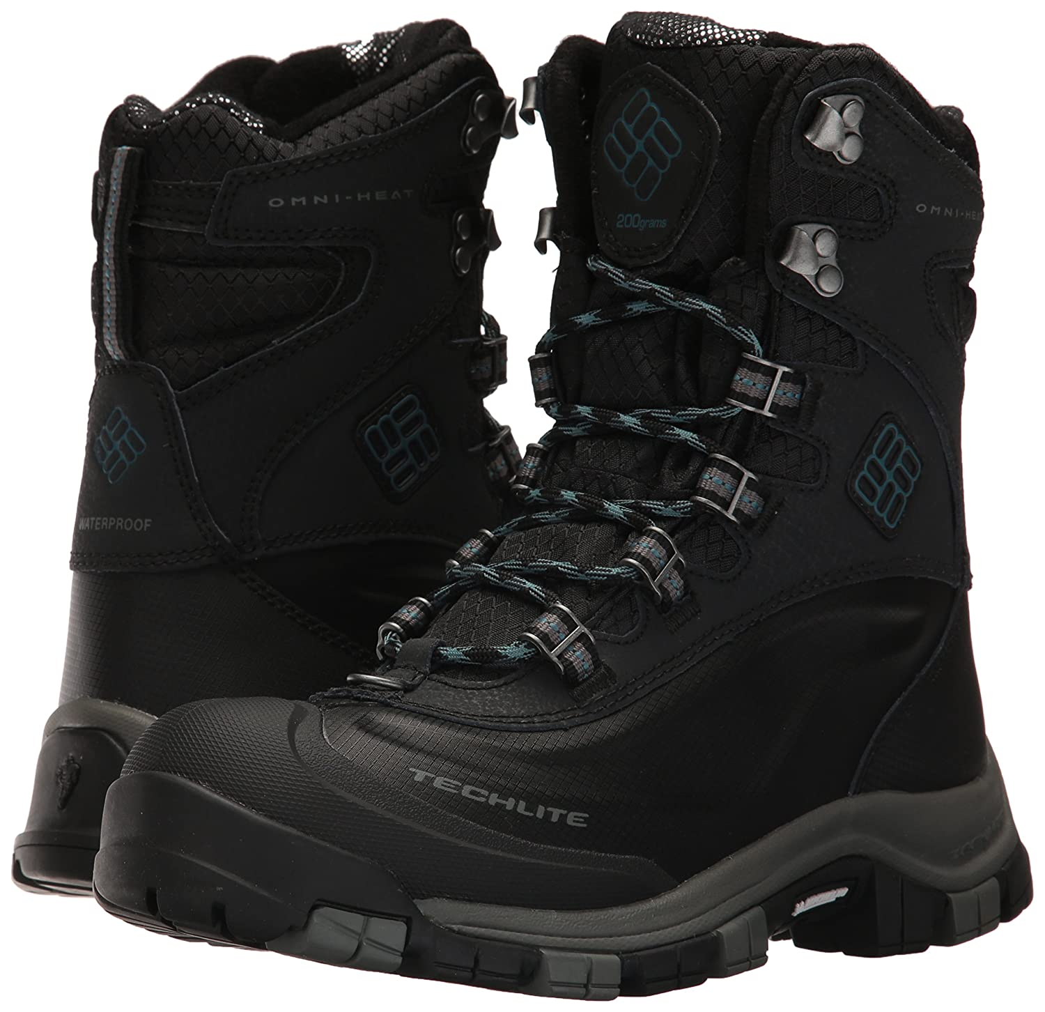 Columbia Michelin Women's Bugaboot Plus Omni-Heat Michelin Columbia Snow Boot B01NCNRE9Q 9.5 B(M) US|Black, Cloudburst 869af1