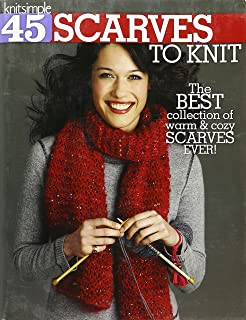 Amazon knit scarves 16 cool patterns to keep you warm 45 scarves to knit the best collection of warm cozy scarves ever fandeluxe Gallery