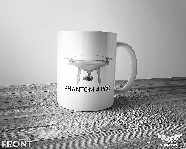 DJI Phantom 4 Pro 11オンスコーヒーマグ B07C1DQKSN