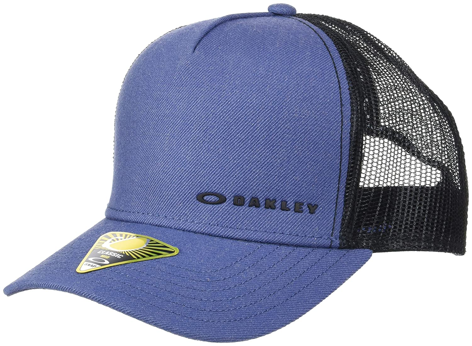 on sale 64d99 c1e01 Oakley Mens Chalten Adjustable Hat One Size Blue Indigo at Amazon Men s  Clothing store