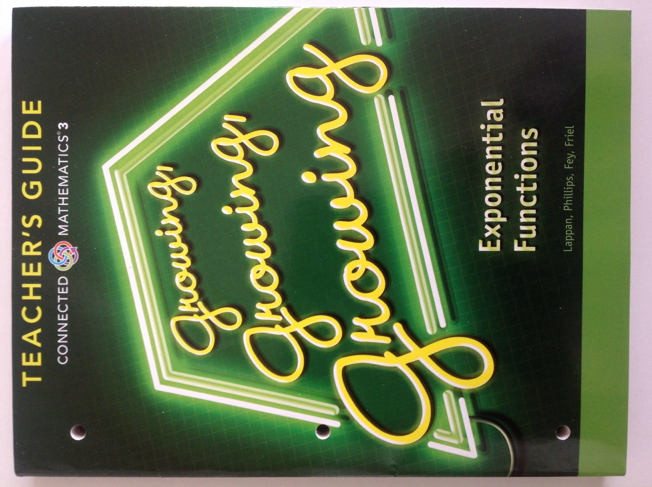 Connected mathematics 3 teachers guide grade 8 growing growing connected mathematics 3 teachers guide grade 8 growing growing growing exponential functions copyright 2014 prentice hall 9780133276640 amazon fandeluxe Image collections