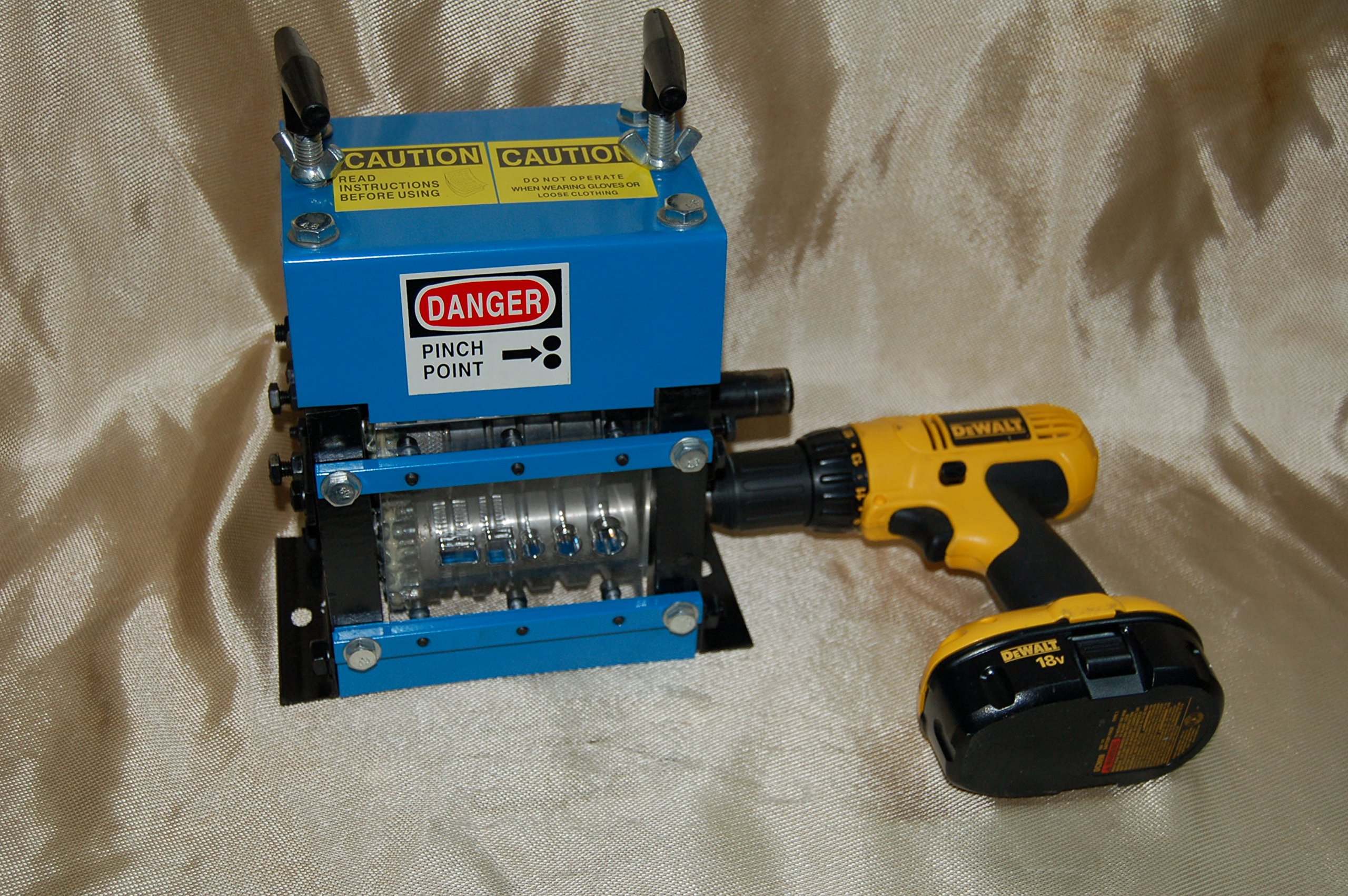 Wire Stripping Machine Copper Stripper BLUEROCK Tools MWS-83MD Manual Recycling
