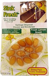 Economy Kitchen Accessory Sink Fresh Lemon 12 Count
