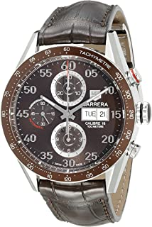 TAG Heuer Mens CV2A12.FC6236 Carrera Day Date Automatic Chronograph Watch