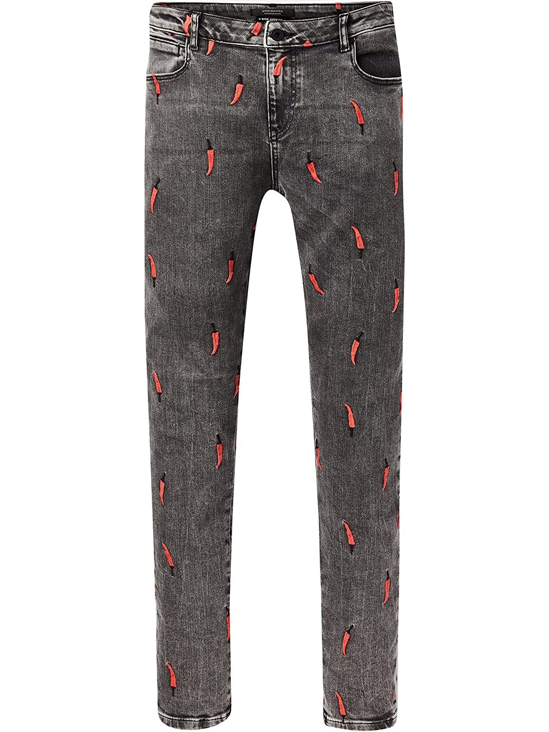 Scotch & Soda Petit Ami - Love Is All U Need - Vaqueros Straight Mujer