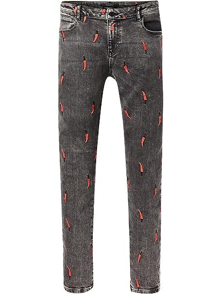 Amazon.com: Scotch & Soda 145056 - Pantalones vaqueros para ...
