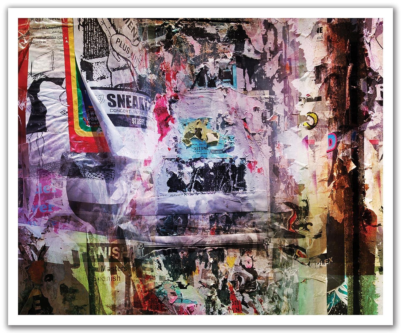 JP London POSLT2094 uStrip Lite Removable Wall Decal Sticker Mural Sneaker Pimp Grafitti Bill Post, 24-Inch x 19.75-Inch