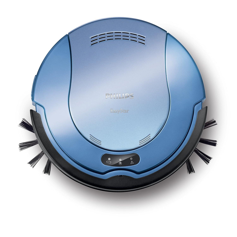 Philips FC8800/01 - Sistema de limpieza de 2 fases, supercompacto (5 cm), cepillos laterales extragrandes y tiempo de funcionamiento de 50 minutos: ...