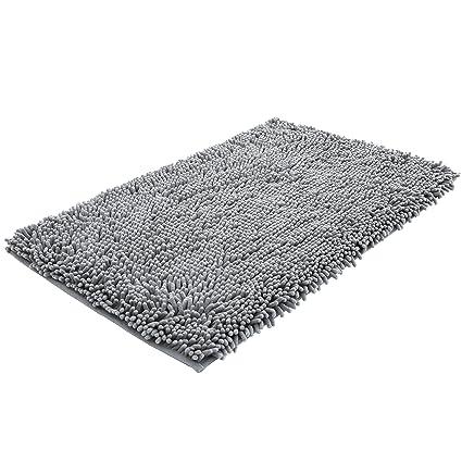 Nttr Super Soft Bath Mat Microfiber Bathroom Rugs Non Slip Absorbent Fast Drying Bathroom Carpet