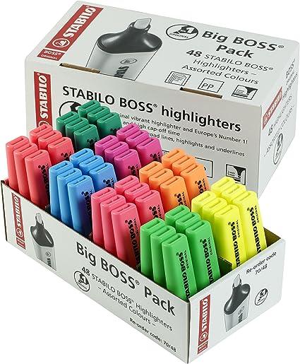 Stabilo CEOND018227 - Marcador, color Surtido, Pack de 48: Amazon ...