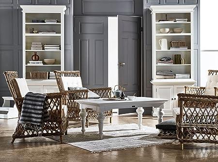 Provence Landhausmöbel Couchtisch Weiß Landhaus Barock Kaffeetisch  Stylemoebel: Amazon.de: Küche U0026 Haushalt