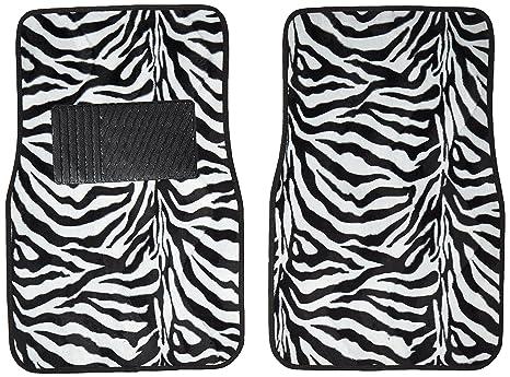Image of: Wallpaper Image Unavailable Amazoncom Amazoncom Zebra Set Of Universal Fit Animal Print Carpet Floor