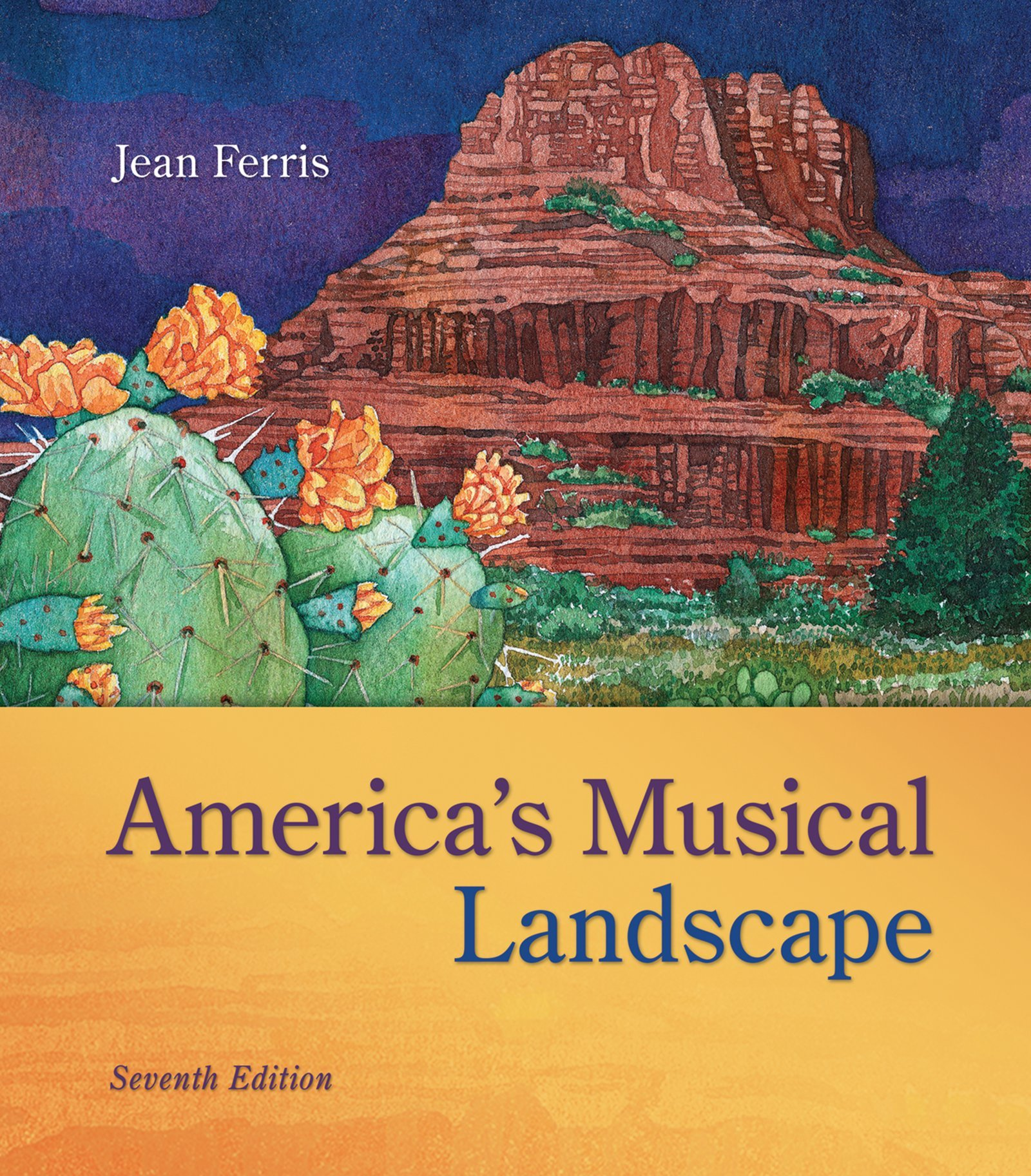 Audio CD set for use with America''s Musical Landscape by McGraw-Hill Education