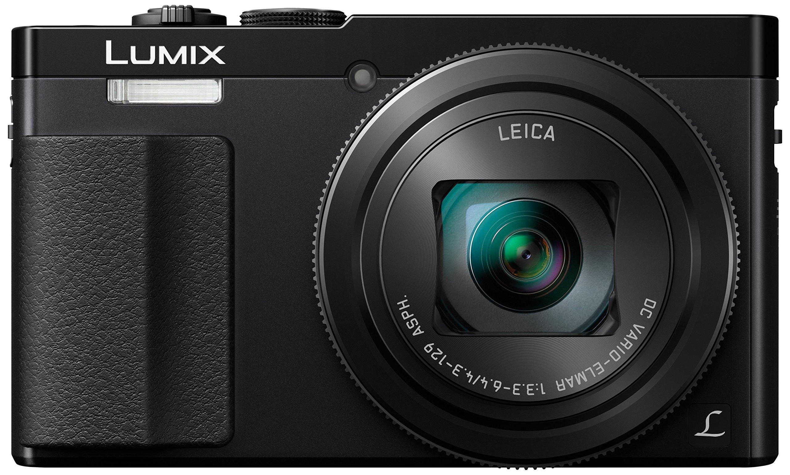 Panasonic Lumix DMC-TZ70EG-K - Cámara compacta de 12.1 MP (Zoom óptico de 30x, estabilizador óptico, Vídeo Full HD, WiFi), Color Negro product image