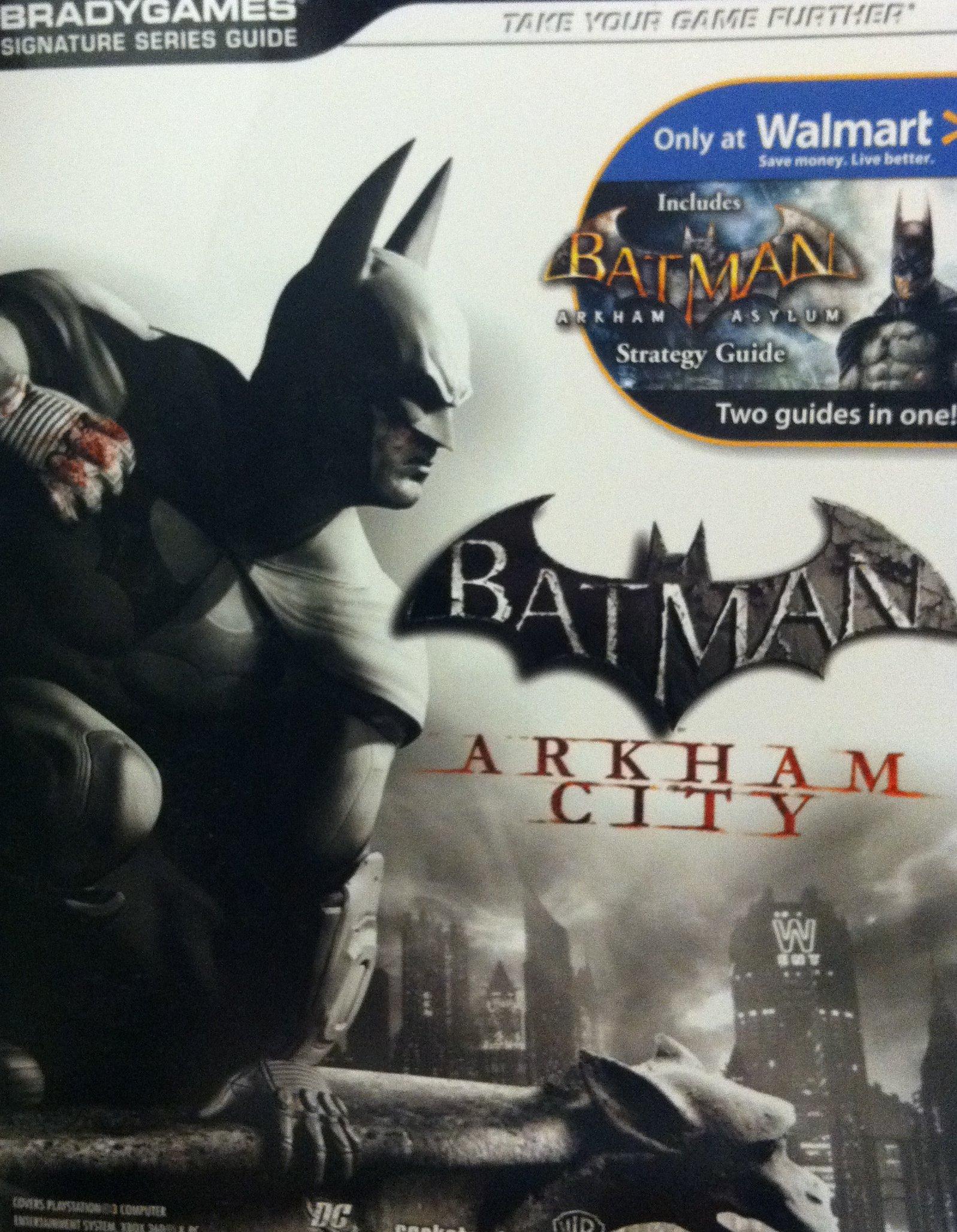 Read Online Batman: Arkham City / Includes Batman Arkham Asylum - Two Guides in One! (BradyGames Signature Series Guide) by Michael Lummis (2011-05-03) ebook