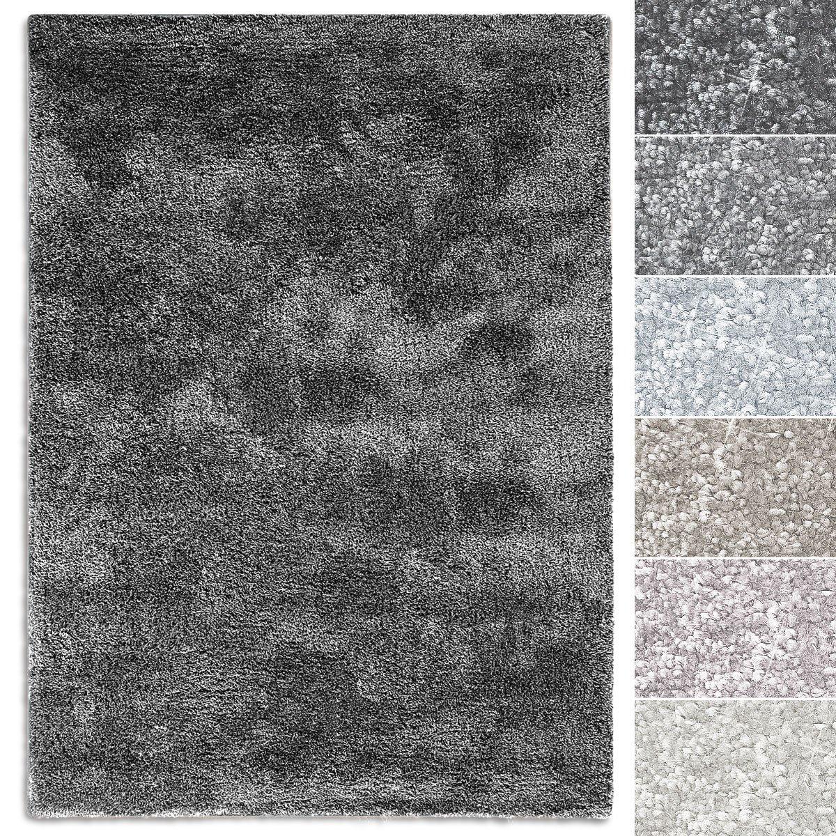 Casa pura Teppich Sundae     viele Größen   pflegeleicht kuschlig weich   Flurteppich, Wohnzimmerteppich, Küchenteppich, Schlafzimmerteppich (Silber - 300x400 cm) B07CWSRW6L Teppiche 2f5652