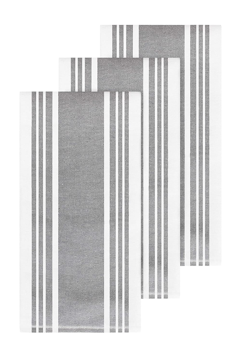 All-Clad Textiles 87170 Kitchen Towel, 3-Pack, Pewter