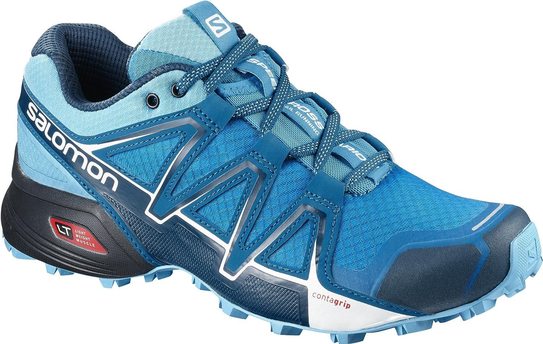 Salomon Speedcross Vario 2, Calzado de Trail Running para Mujer 43 1/3 EU|Multicolor (Hawaiian Surf/Aquarius/Mykonos Blue)