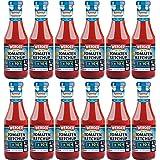 """WERDER 12 x Tomaten Ketchup """"Ohne Zuckerzusatz"""" 450 ml"""